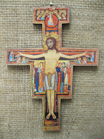 San Damiano Cross  - St. Patrick's Gift Shop & Bookstore