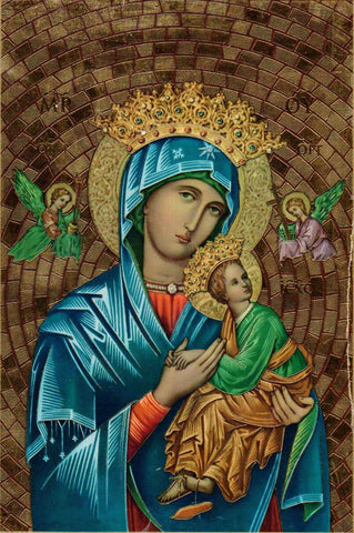 Our Lady of Perpetual Help Mosaic  - St. Patrick's Gift Shop & Bookstore