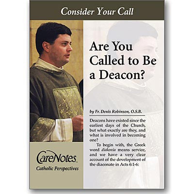 Are You Called to Be a Deacon?  - St. Patrick's Gift Shop & Bookstore