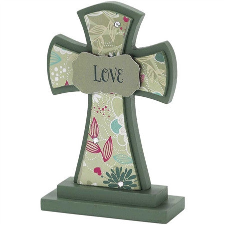 Love Decorative Cross  - St. Patrick's Gift Shop & Bookstore
