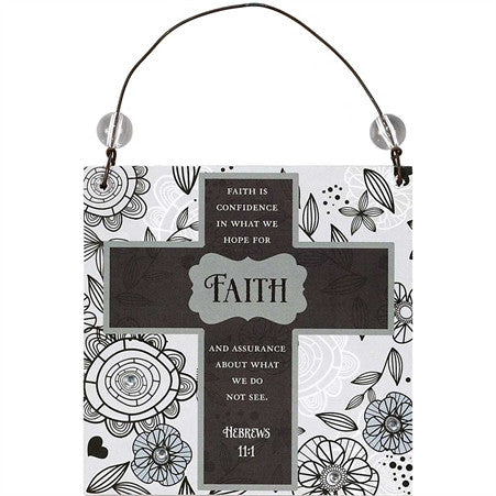 Faith is Confidence Hanging Decoration  - St. Patrick's Gift Shop & Bookstore
