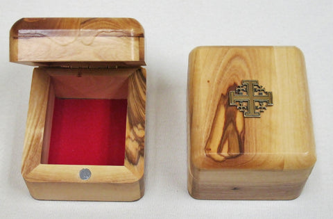 Olive Wood Gift Box  - St. Patrick's Gift Shop & Bookstore