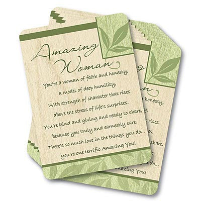 Amazing Woman Prayer Card  - St. Patrick's Gift Shop & Bookstore