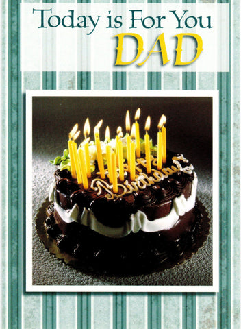 Today is For You Dad - Birthday Cake  - St. Patrick's Gift Shop & Bookstore