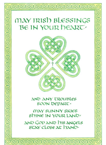 May Irish Blessings Be In Your Heart  - St. Patrick's Gift Shop & Bookstore