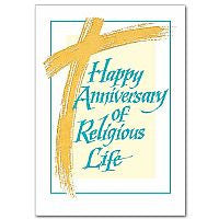 Happy Anniversary of Religious Life  - St. Patrick's Gift Shop & Bookstore