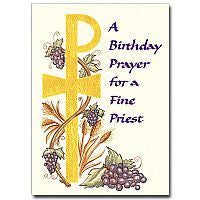 A Birthday Prayer for a Fine Priest  - St. Patrick's Gift Shop & Bookstore