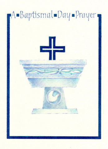A Baptismal Day Prayer  - St. Patrick's Gift Shop & Bookstore
