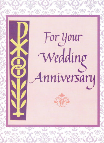 For Your Wedding Anniversary (Pink)  - St. Patrick's Gift Shop & Bookstore