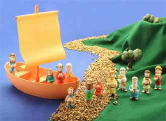 Galilean Boat Set  - St. Patrick's Gift Shop & Bookstore