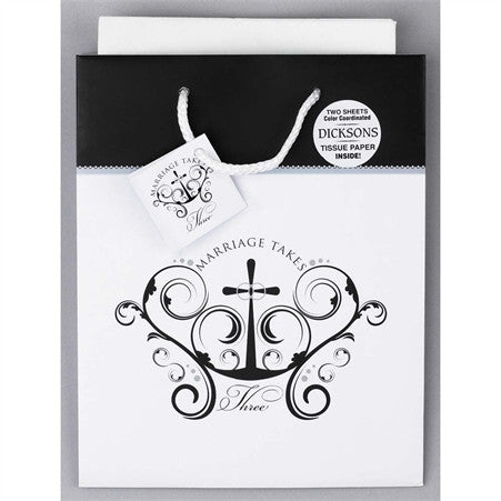 Marriage Takes Three Gift Bag  - St. Patrick's Gift Shop & Bookstore