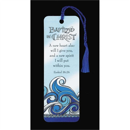 Baptized in Christ Bookmark  - St. Patrick's Gift Shop & Bookstore