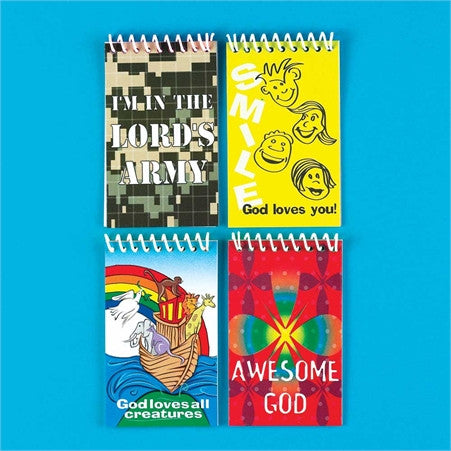 Praizes Notepad Set of 4  - St. Patrick's Gift Shop & Bookstore