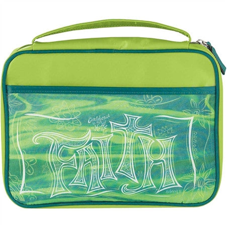 Bible Case Faith (Green)  - St. Patrick's Gift Shop & Bookstore