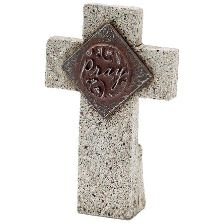 Stone Cross - Pray  - St. Patrick's Gift Shop & Bookstore