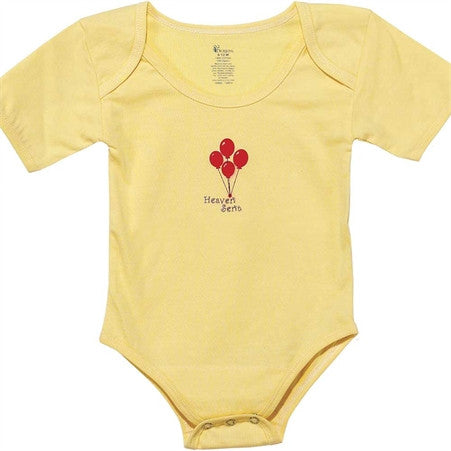 Heaven Sent Yellow 6-12 Month Baby Shirt  - St. Patrick's Gift Shop & Bookstore