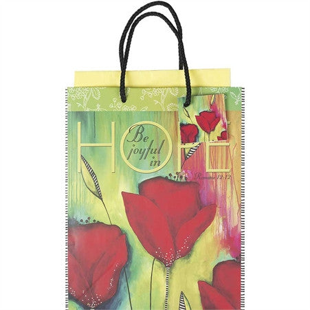 Be Joyful In Hope Gift Bag  - St. Patrick's Gift Shop & Bookstore