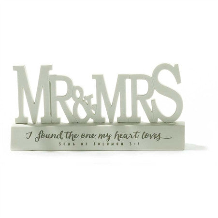 Mr. & Mrs. Word Figurine  - St. Patrick's Gift Shop & Bookstore
