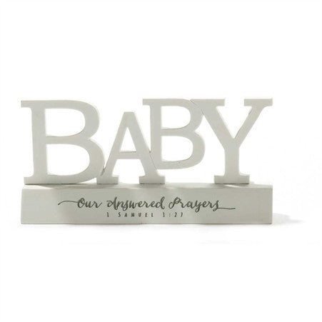 Baby Word Figurine  - St. Patrick's Gift Shop & Bookstore