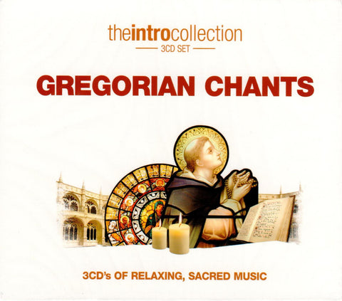 Gregorian Chants: The Intro Collection (3 CD Set)  - St. Patrick's Gift Shop & Bookstore