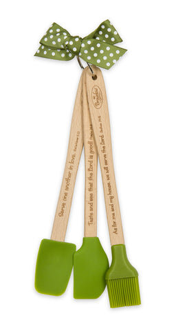 Mini Kitchen Tool Set Green - St. Patrick's Gift Shop & Bookstore - 1
