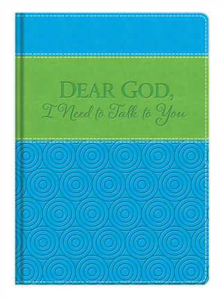 Dear God, I Need to Talk to You - Leather Journal  - St. Patrick's Gift Shop & Bookstore