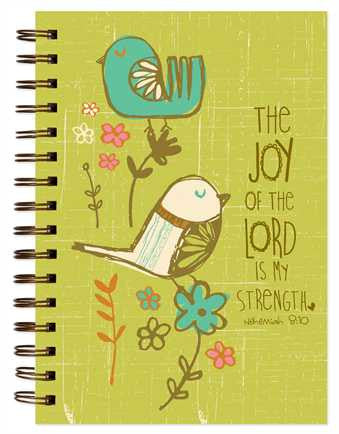 The Joy of the Lord - Spiral Journal  - St. Patrick's Gift Shop & Bookstore