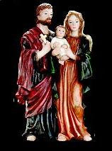 "Holy Family - 5.5"" Florentine  - St. Patrick's Gift Shop & Bookstore"