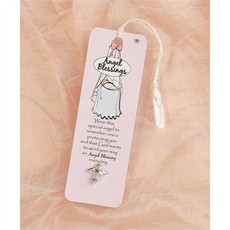 Pink Angel Blessings Pin and Bookmark  - St. Patrick's Gift Shop & Bookstore
