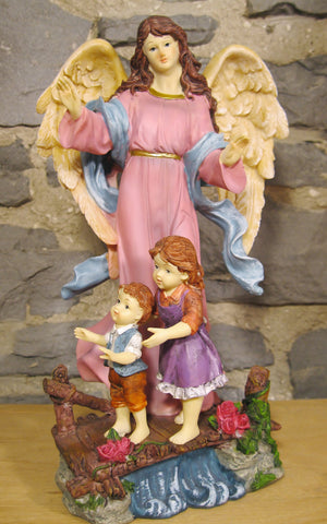 Guardian Angel Statue  - St. Patrick's Gift Shop & Bookstore