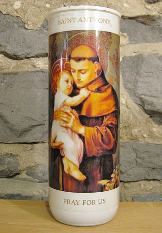 Saint Anthony Candle  - St. Patrick's Gift Shop & Bookstore