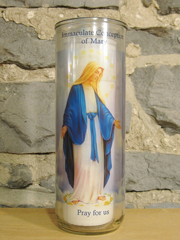 Immaculate Conception Candle  - St. Patrick's Gift Shop & Bookstore