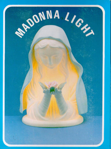Madonna Light  - St. Patrick's Gift Shop & Bookstore