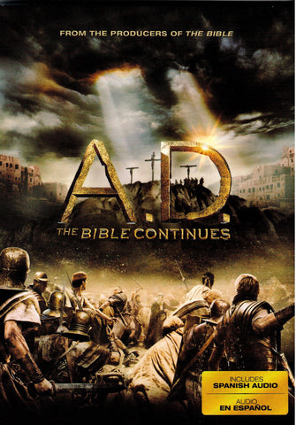 A.D. The Bible Continues  - St. Patrick's Gift Shop & Bookstore
