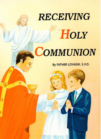 Receiving Holy Communion (St. Joseph Picture Books)  - St. Patrick's Gift Shop & Bookstore