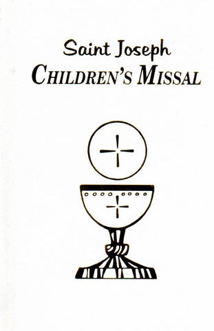 Saint Joseph Children's Missal White - St. Patrick's Gift Shop & Bookstore - 1