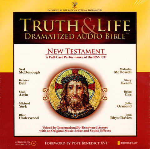 Truth and Life Dramatized Audio Bible New Testament  - St. Patrick's Gift Shop & Bookstore