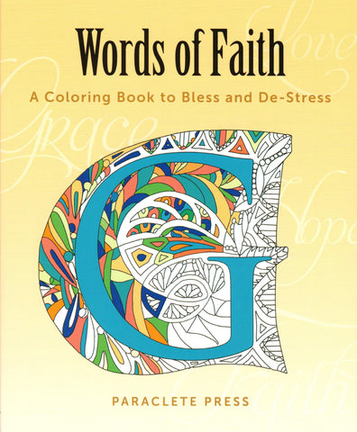 Words of Faith  - St. Patrick's Gift Shop & Bookstore