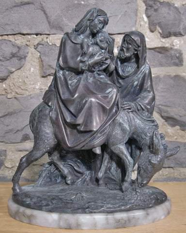 Flight to Egypt - 10 inches  - St. Patrick's Gift Shop & Bookstore