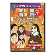 My Catholic Family - Saint Clare of Assisi  - St. Patrick's Gift Shop & Bookstore