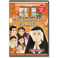 My Catholic Family - Saint Faustina  - St. Patrick's Gift Shop & Bookstore