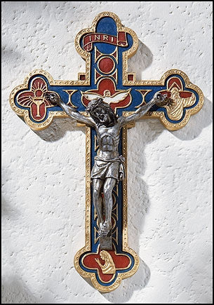 Bread of Life Wall Crucifix  - St. Patrick's Gift Shop & Bookstore