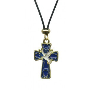 Blue Cross- Dove Pendant  - St. Patrick's Gift Shop & Bookstore