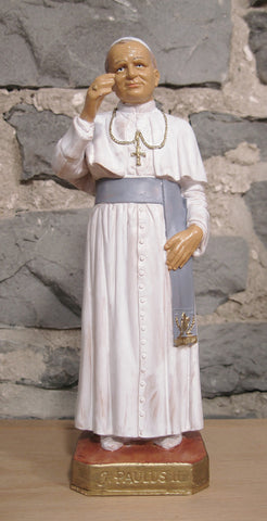 St. John Paul II -  8 inches  - St. Patrick's Gift Shop & Bookstore
