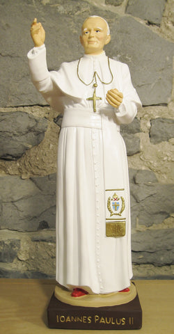St. John Paul II - 12 inches  - St. Patrick's Gift Shop & Bookstore