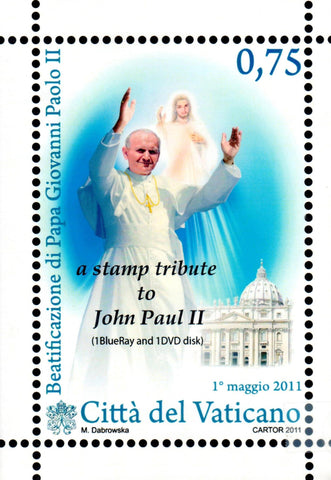 A Stamp Tribute to John Paul II  - St. Patrick's Gift Shop & Bookstore