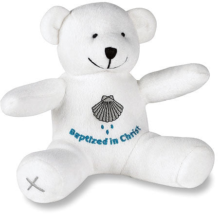 Baptism Bear  - St. Patrick's Gift Shop & Bookstore