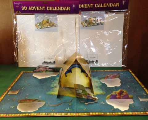 3D Advent Calendar  - St. Patrick's Gift Shop & Bookstore