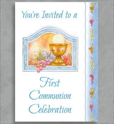 First Communion Invitation Package (Boy)
