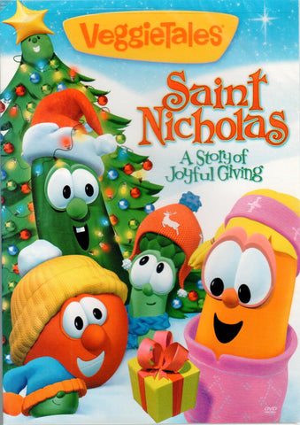 Veggie Tales: Saint Nicholas, A Story of Joyful Giving  - St. Patrick's Gift Shop & Bookstore